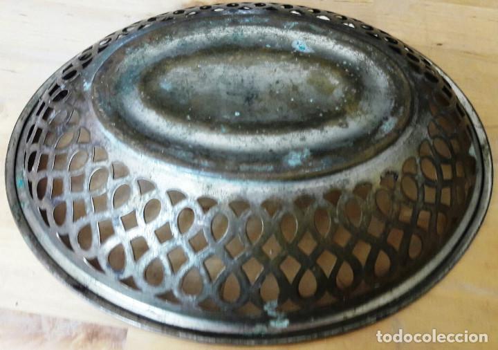 Antigüedades: ANTIGUO FRUTERO METÁLICO DE REJILLA AÑOS 50 - Foto 3 - 88962908