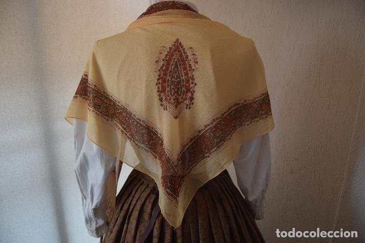PICO DE CRESPÓN PARA INDUMENTARIA (Antigüedades - Moda - Mantones Antiguos)