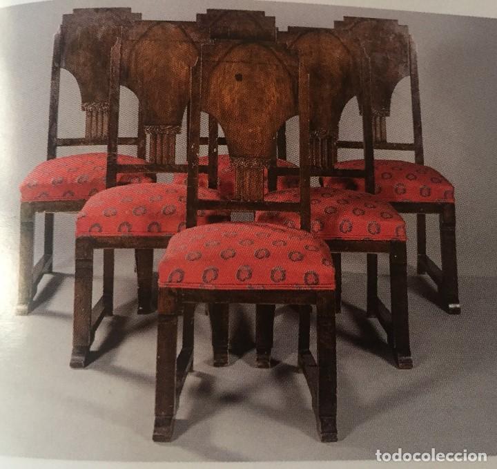 SILLAS ART DECÓ (1920) (Antigüedades - Muebles Antiguos - Sillas Antiguas)