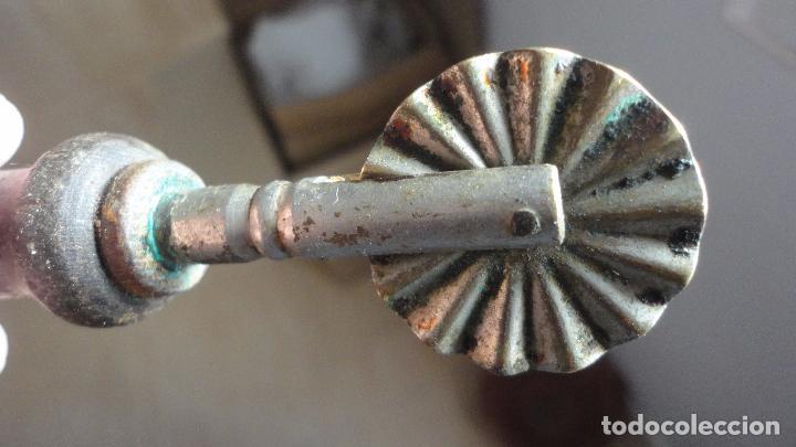 Antigüedades: ANTIGUO CORTADOR DE PASTA.METAL Y MADERA.AÑOS 20.30 - Foto 2 - 89021824