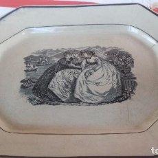 Antigüedades: ANTIGUA FUENTE DE CARTAGENA, SELLO INCISO Y TINTA. Lote 89093948