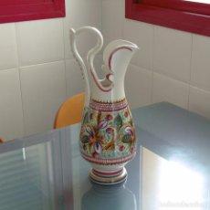 Antigüedades: JARRÓN MUY DECORATIVO. CERÁMICA.. Lote 89094972