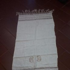 Antigüedades: TAPETE MANTEL REALIZADO A MANO VAINICA. Lote 89085748