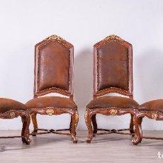 Antigüedades - Antiguo juego de sillas de diseño - 89172364