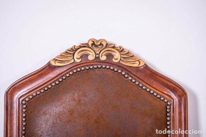 Antigüedades: Antiguo juego de sillas de diseño - Foto 6 - 89172364