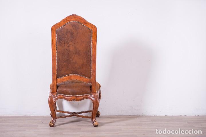 Antigüedades: Antiguo juego de sillas de diseño - Foto 7 - 89172364