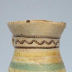 Antigüedades: ANTIGUA JARRA DE CERAMICA PUENTE ARZOBISPO. SIGLO XIX. Lote 89178888