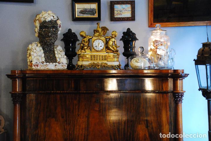 Antigüedades: ESPECTACULAR CÓMODA- ESCRITORIO.MUEBLE RUSO 1822 - Foto 2 - 89209708