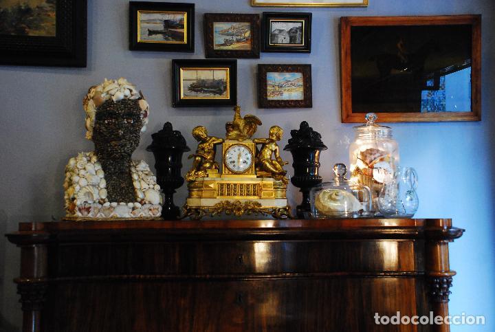 Antigüedades: ESPECTACULAR CÓMODA- ESCRITORIO.MUEBLE RUSO 1822 - Foto 3 - 89209708