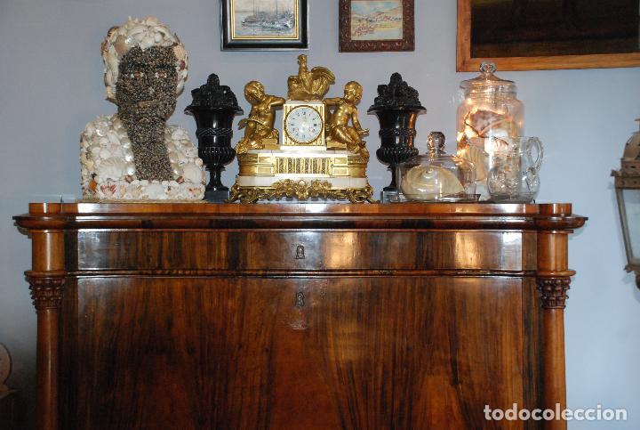 Antigüedades: ESPECTACULAR CÓMODA- ESCRITORIO.MUEBLE RUSO 1822 - Foto 4 - 89209708