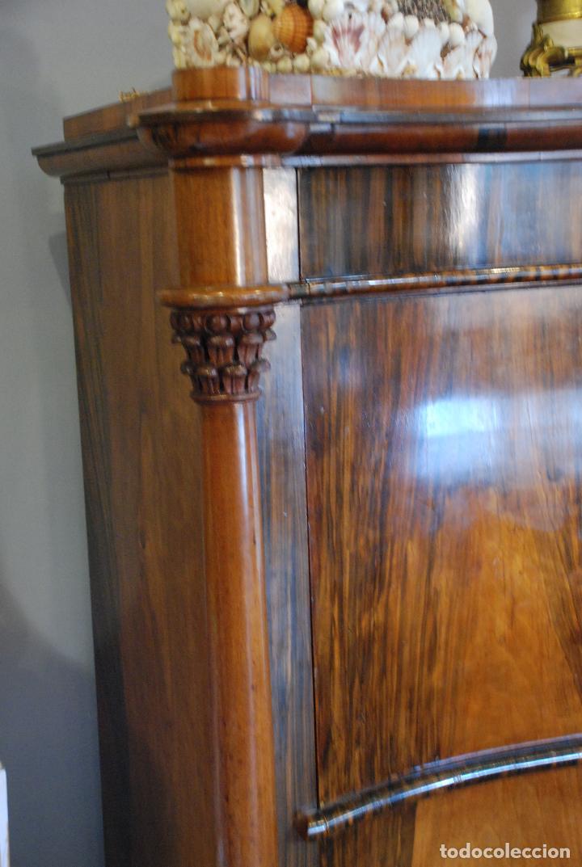 Antigüedades: ESPECTACULAR CÓMODA- ESCRITORIO.MUEBLE RUSO 1822 - Foto 8 - 89209708