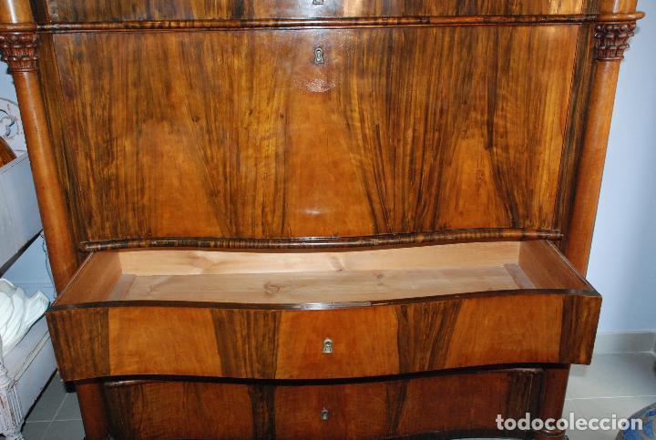 Antigüedades: ESPECTACULAR CÓMODA- ESCRITORIO.MUEBLE RUSO 1822 - Foto 25 - 89209708