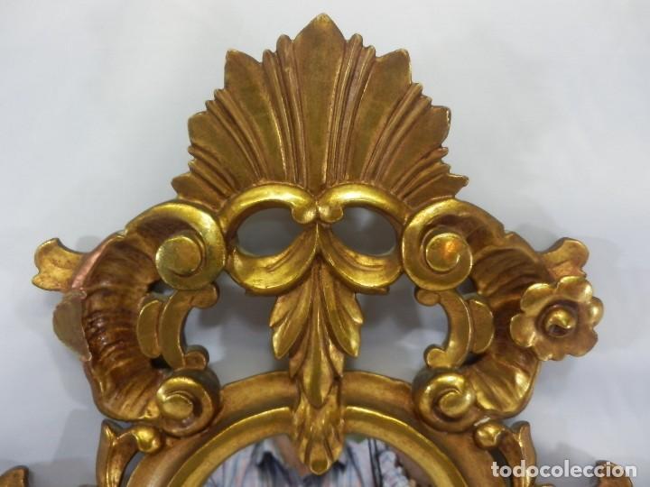 Antigüedades: Cornucopias pps SXIX - Pan de oro y escenas grabadas al ácido. La Granja - Foto 5 - 89283068