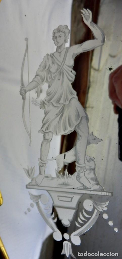 Antigüedades: Cornucopias pps SXIX - Pan de oro y escenas grabadas al ácido. La Granja - Foto 19 - 89283068