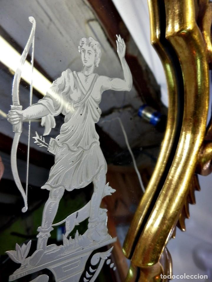 Antigüedades: Cornucopias pps SXIX - Pan de oro y escenas grabadas al ácido. La Granja - Foto 22 - 89283068