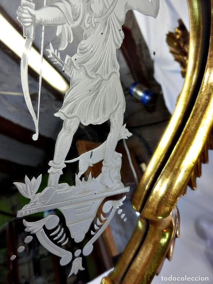 Antigüedades: Cornucopias pps SXIX - Pan de oro y escenas grabadas al ácido. La Granja - Foto 23 - 89283068