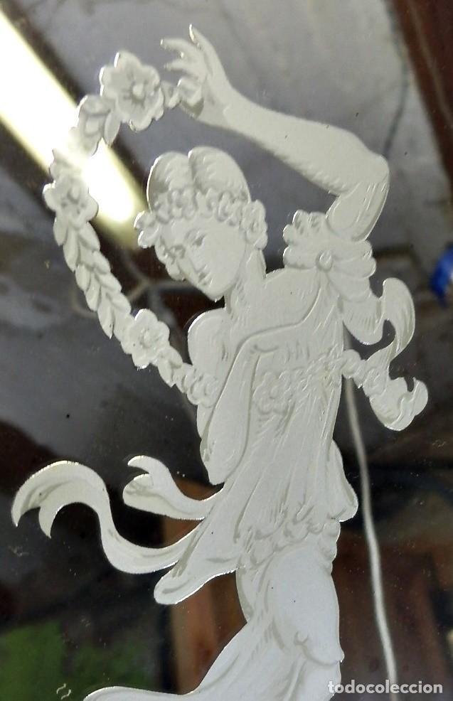 Antigüedades: Cornucopias pps SXIX - Pan de oro y escenas grabadas al ácido. La Granja - Foto 25 - 89283068