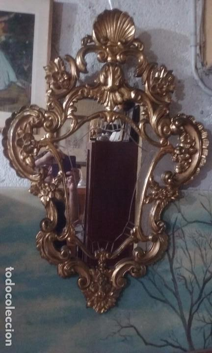 CORNUCOPIA DORADA (Antigüedades - Muebles Antiguos - Cornucopias Antiguas)