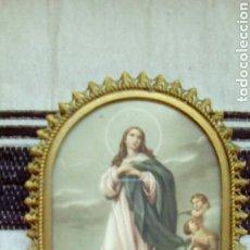 Antigüedades: ANTIGUO RELICARIO VIRGEN INMACULADA CONC. Lote 89328612