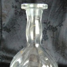 Antigüedades: BOTELLA CRISTAL DE SANTA LUCIA CARTAGENA 15,5 CM. Lote 89335071