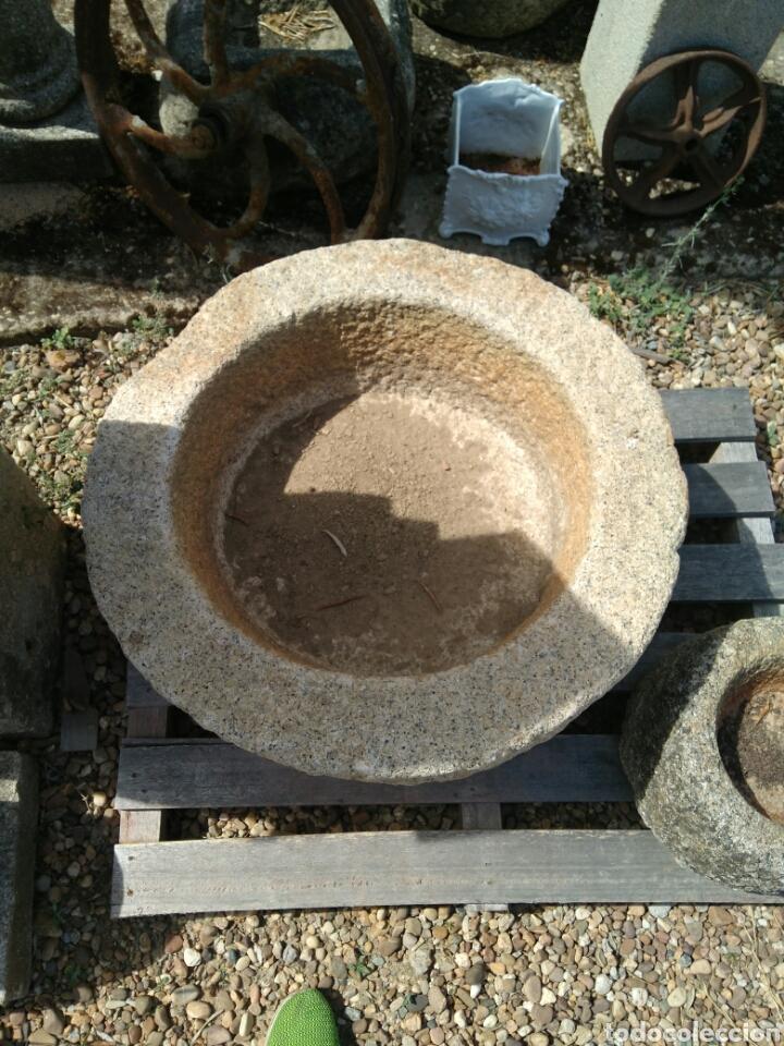 Antigüedades: Antigua pila de granito - Foto 2 - 89345468