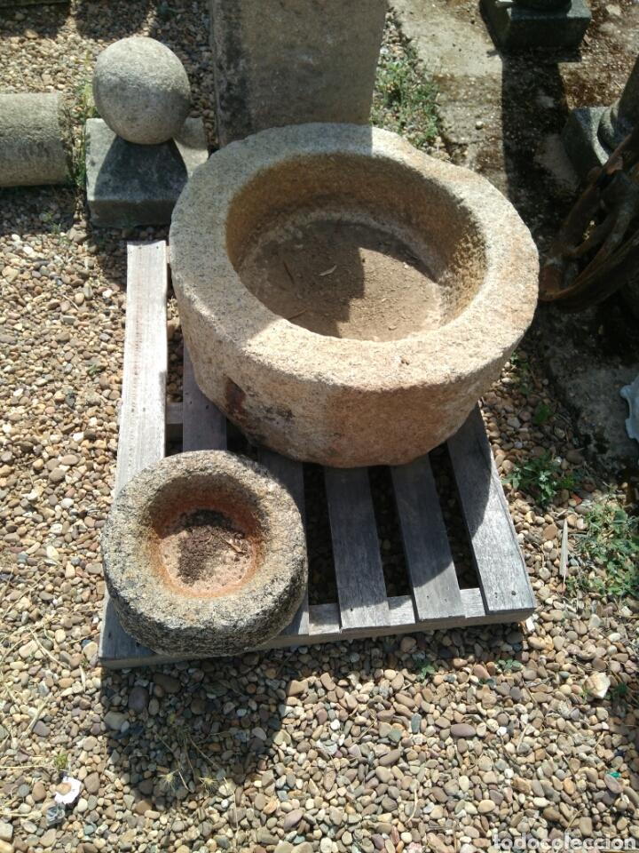 Antigüedades: Antigua pila de granito - Foto 3 - 89345468