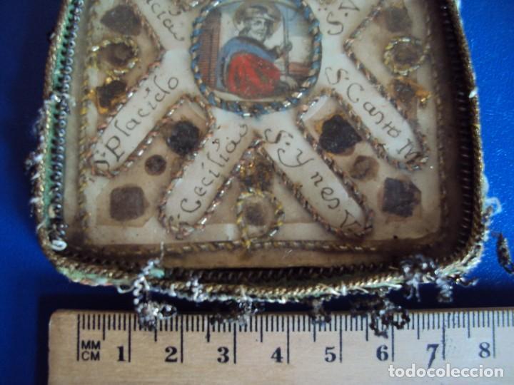 Antigüedades: (NA-170613)ANTIGUO RELICARIO CON MUCHAS RELIQUIAS - Foto 3 - 150853120