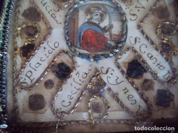 Antigüedades: (NA-170613)ANTIGUO RELICARIO CON MUCHAS RELIQUIAS - Foto 5 - 150853120
