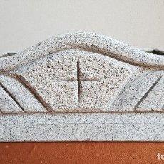 Antigüedades: JARDINERA DE GRANITO. MACETERO PIEDRA.. Lote 89360988