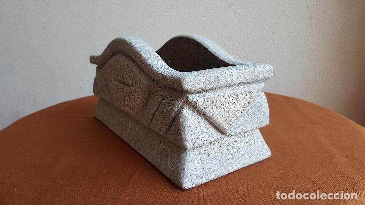 Antigüedades: Jardinera de granito. Macetero piedra. - Foto 3 - 89360988