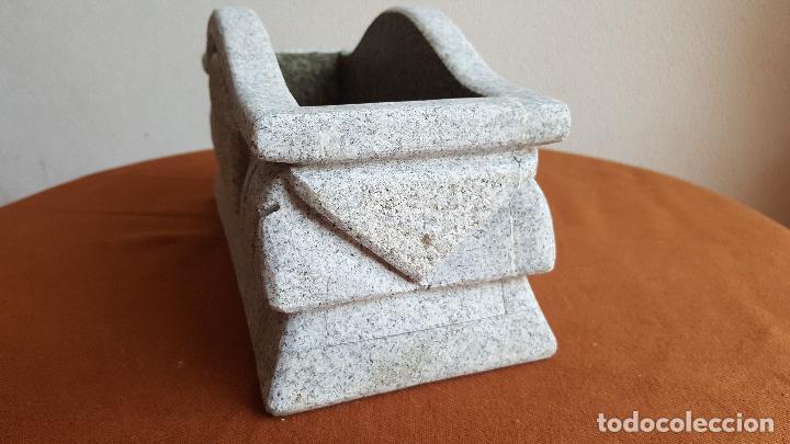 Antigüedades: Jardinera de granito. Macetero piedra. - Foto 5 - 89360988