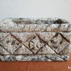 Antigüedades: JARDINERA REALIZADA EN GRANITO. PRECIOSA.. Lote 89361252
