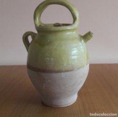 Antigüedades: CÁNTARO,BOTIJO,POAL ,EN CERAMICA. Lote 89397320