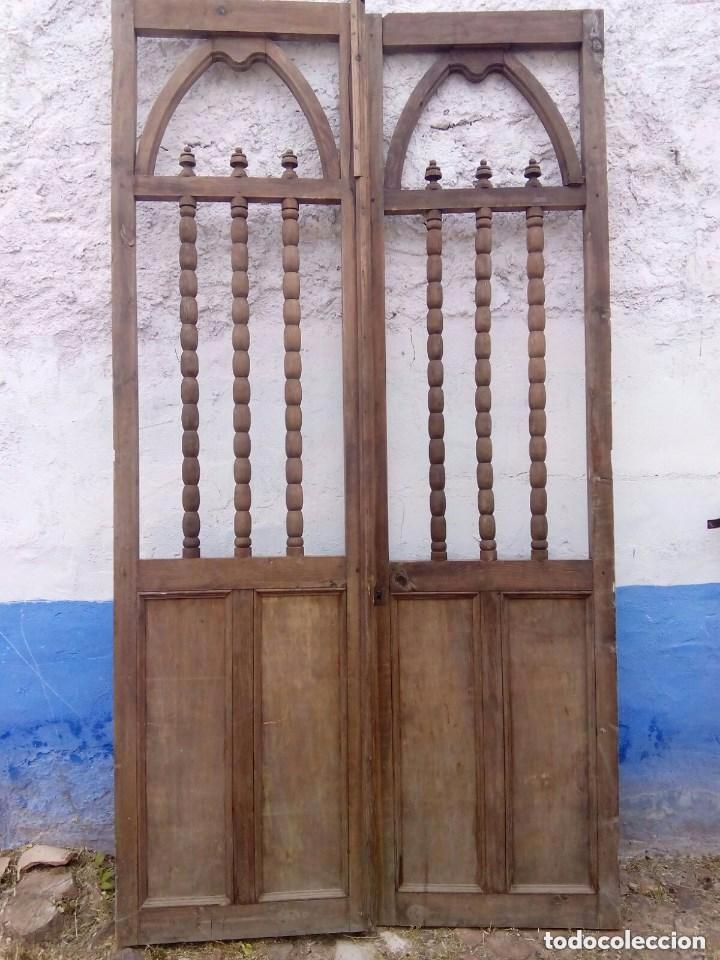 Puertas antiguas de madera conjunto de capilla comprar for Ver puertas de madera