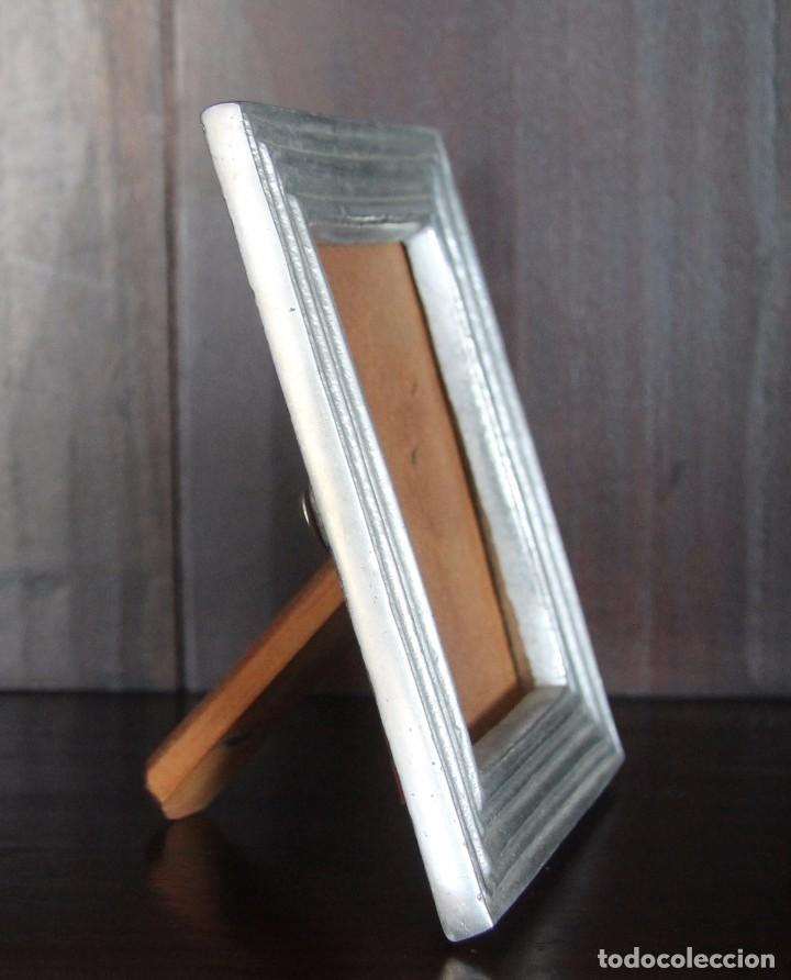 marco de foto fotografia en metal plateado pewt - Comprar Marcos ...