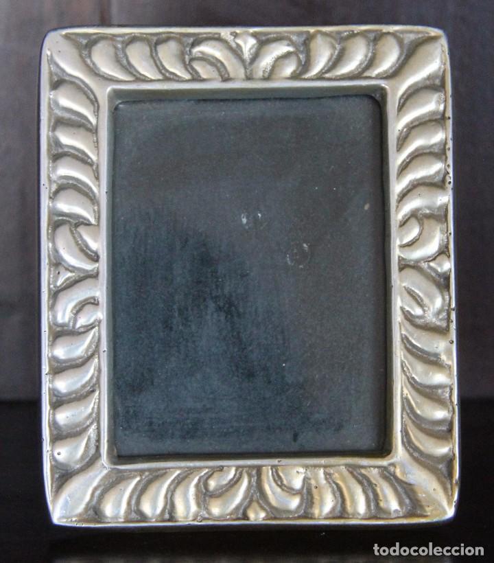 marco foto fotografia en metal plateado pewter - Comprar Marcos ...