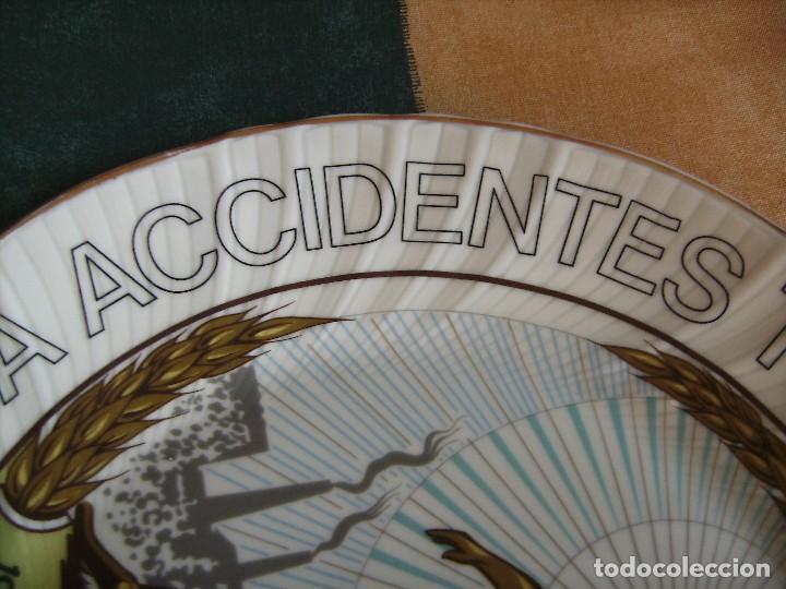 Antigüedades: plato,irabia porcelana españa, mirar fotos - Foto 3 - 89512916