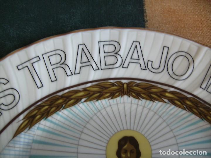 Antigüedades: plato,irabia porcelana españa, mirar fotos - Foto 4 - 89512916
