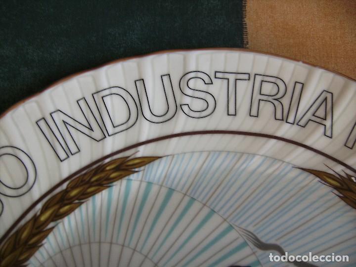Antigüedades: plato,irabia porcelana españa, mirar fotos - Foto 5 - 89512916