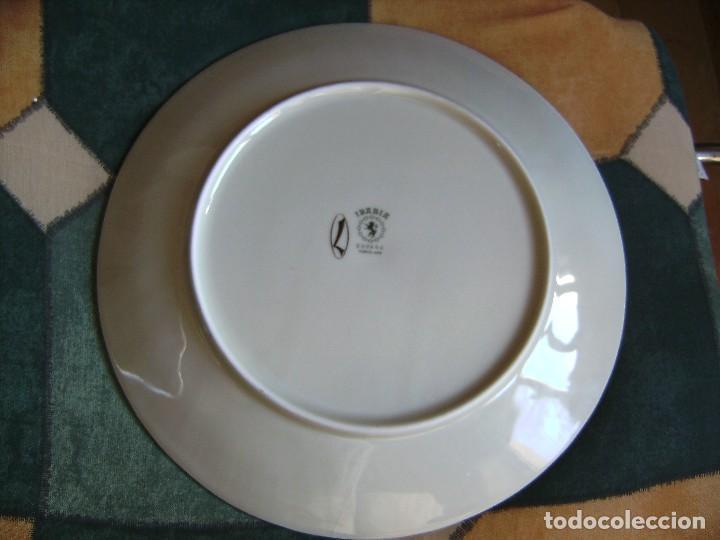 Antigüedades: plato,irabia porcelana españa, mirar fotos - Foto 9 - 89512916