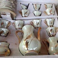 Antigüedades: ANTIGUO JUEGO DE CAFE A ESTRENAR. Lote 89542776