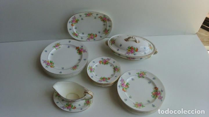 VAJILLA INGLESA (Antigüedades - Porcelanas y Cerámicas - Inglesa, Bristol y Otros)