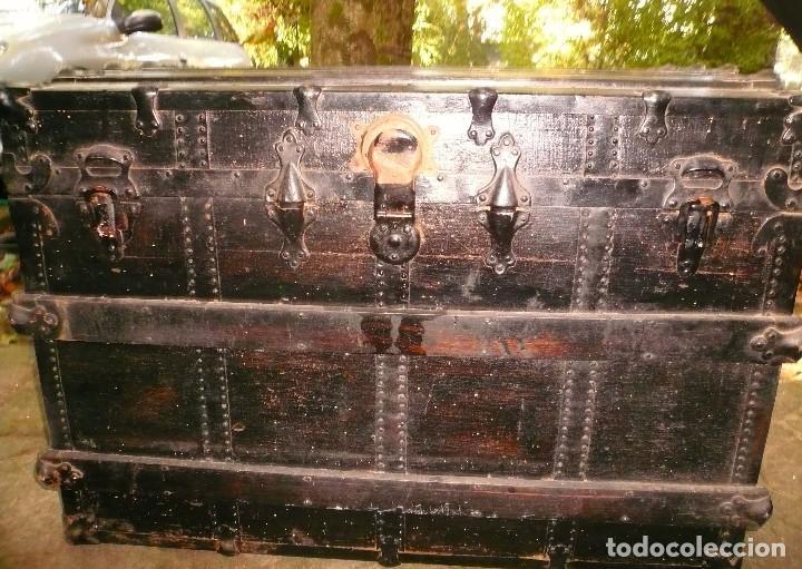 Antigüedades: BAÚL GRANDE - Foto 3 - 104242098