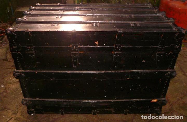 Antigüedades: BAÚL GRANDE - Foto 4 - 104242098
