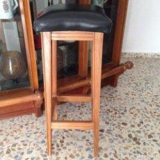 Antigüedades: TABURETE MADERA. Lote 89575456