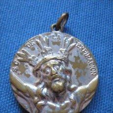 Antigüedades: SEMANA SANTA SEVILLA - MEDALLA DE LA HERMANDAD DEL CACHORRO . Lote 89591832