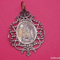 Antigüedades: PRECIOSA MEDALLA SIGLO XIX VIRGEN DE LOS DOLORES Y SAN JOSÉ.. Lote 89622048
