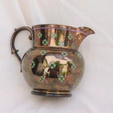 Antigüedades: JARRA DE REFLEJOS DE BRISTOL. Lote 89647368