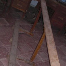 Antigüedades: BANCADA RECLINATORIA DE IGLESIA. Lote 89654128