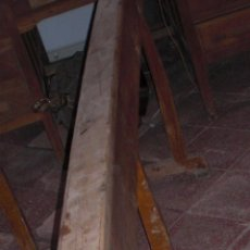 Antigüedades: BANCADA RECLINATORIA DE IGLESIA. Lote 89654180